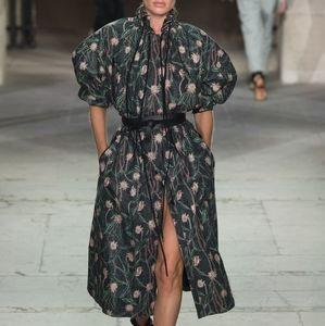 Isabel Marant Floral Long Coat